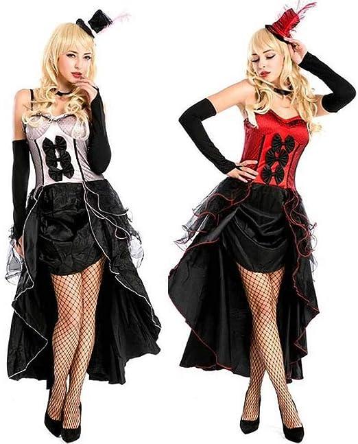 KAIDILA Rendimiento de Mujer Cantante Mujer Jazz Disfraz Halloween ...