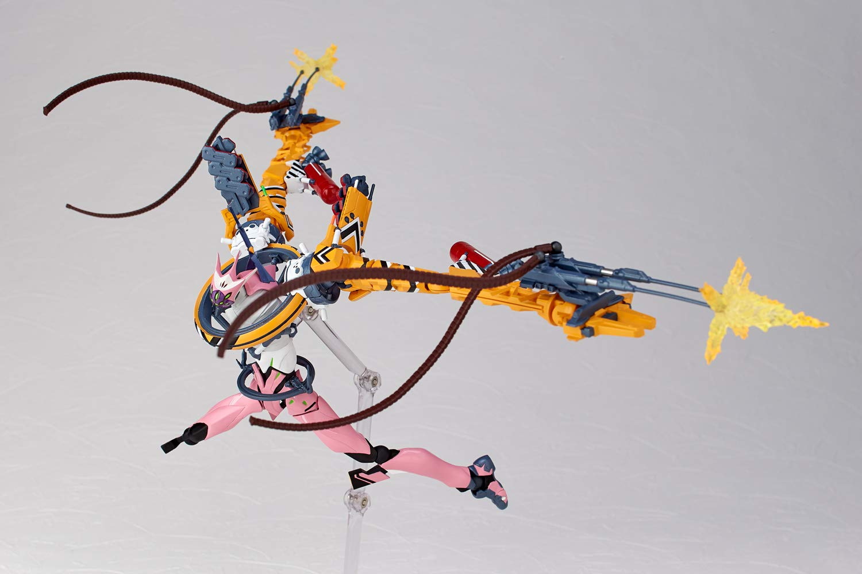 Evangelion Evolution EV-018 Custom Type-08 Flash Version Action Figure Kaiyodo Revoltech