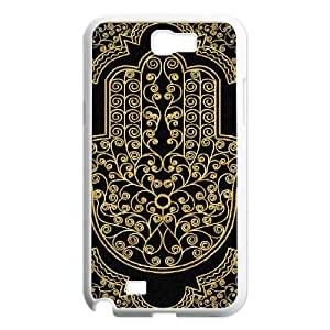 Custom Colorful Case for Samsung Galaxy Note 2 N7100, Hamsa Hand Cover Case - HL-R647698