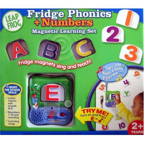 amazoncom leapfrog fridge phonics magnetic letters with numbers toys games