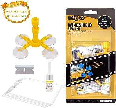 Mookis Windschutzscheibenwerkzeug Reparaturset Für Windschutzscheiben Windschutzscheiben Reparatur Set Windshield Repair Kit Gegen Steinschlag Und Kuhaugen Auto