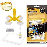 Mookis Windshield Repair Kit para Reparar Grietas, Chips