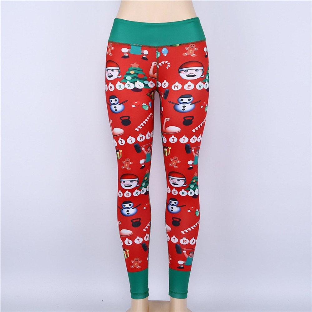 Amazon.com: WM & MW Fashion - Pantalones de Navidad para ...