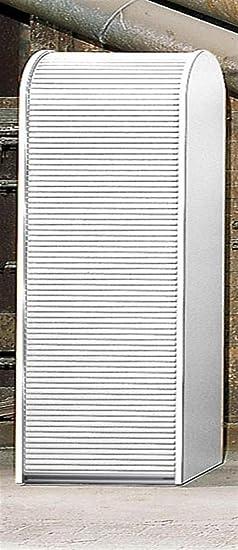 KLENK Collection - Aktenschrank -Rollladenschrank schwarz - weiß ...
