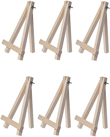 6 Mini Easels - Natural Wood Decorative Display Table Setting Place Card Holder - 7 Inch  sc 1 st  Amazon.com & Amazon.com: 6 Mini Easels - Natural Wood Decorative Display Table ...