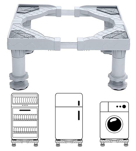 4 Fuerte Los pies Lavadora portátil multifuncional Base móvil ...