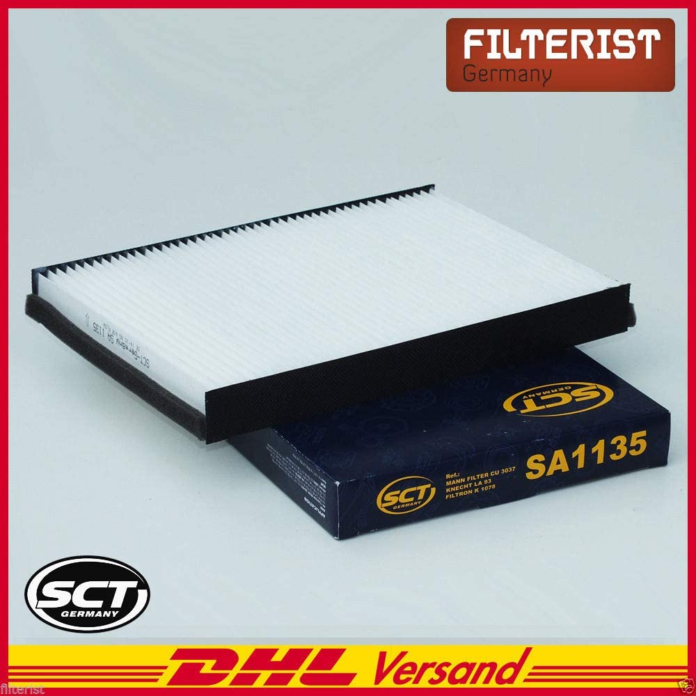 Sct Germany Innenraumfilter Sa1135 Pollenfilter Mikrofilter Auto