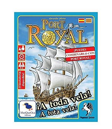 Mas Que Oca Port Royal: a Toda Vela - Juego de Cartas en ...