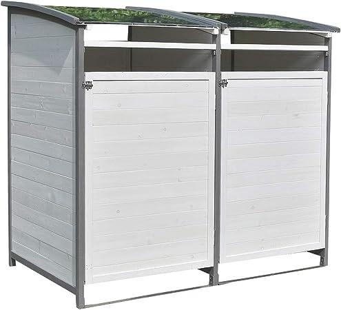 Keter Max Mülltonnenverkleidung Mülltonnenbox Mülltonnenschrank Gerätebox