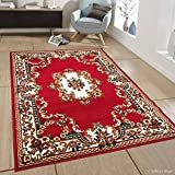 Allstar 8 X 11 Red Woven Traditional Persian Floral Design Area Rug (7′ 7″ X 10′ 6″) Review