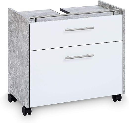 Amazon De Galdem Waschbeckenunterschrank Elegance Mit 2