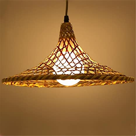 Atcoe hanging lights chandeliers modern pendant ceiling light modern atcoe hanging lights chandeliers modern pendant ceiling light modern creative manual weave bamboo rattan chandelier for aloadofball Image collections