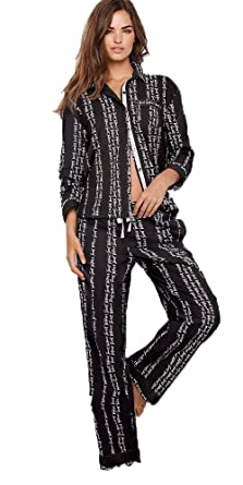 Victorias Secret The Lightweight PJ Cotton Mayfair Pajama Set at Amazon Womens Clothing store: