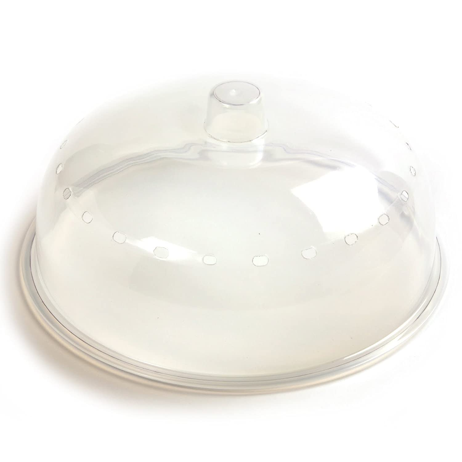 Norpro 2067 Microwave Cover, One Size, Clear