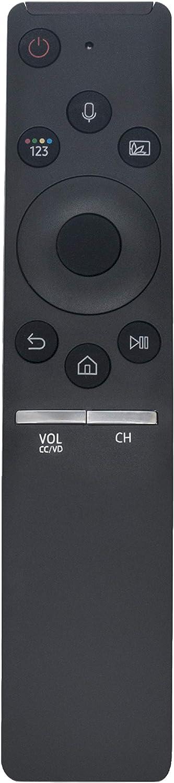 BN59-01298H Replaced Voice Remote fit for Samsung TV Q6FN QLED Smart 4K UHD TV QN55Q6FNAFXZA QN49Q6FNAFXZA QN82Q6FNAFXZA QN75Q6FNAFXZA QN65Q6FNAFXZA RMCSPN1AP1 QN55Q7CNAF QN55Q7FNAF QN55Q8FNBF