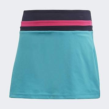 adidas - Falda de Tenis para niña, DH2808, Agua, 5-6 años: Amazon ...
