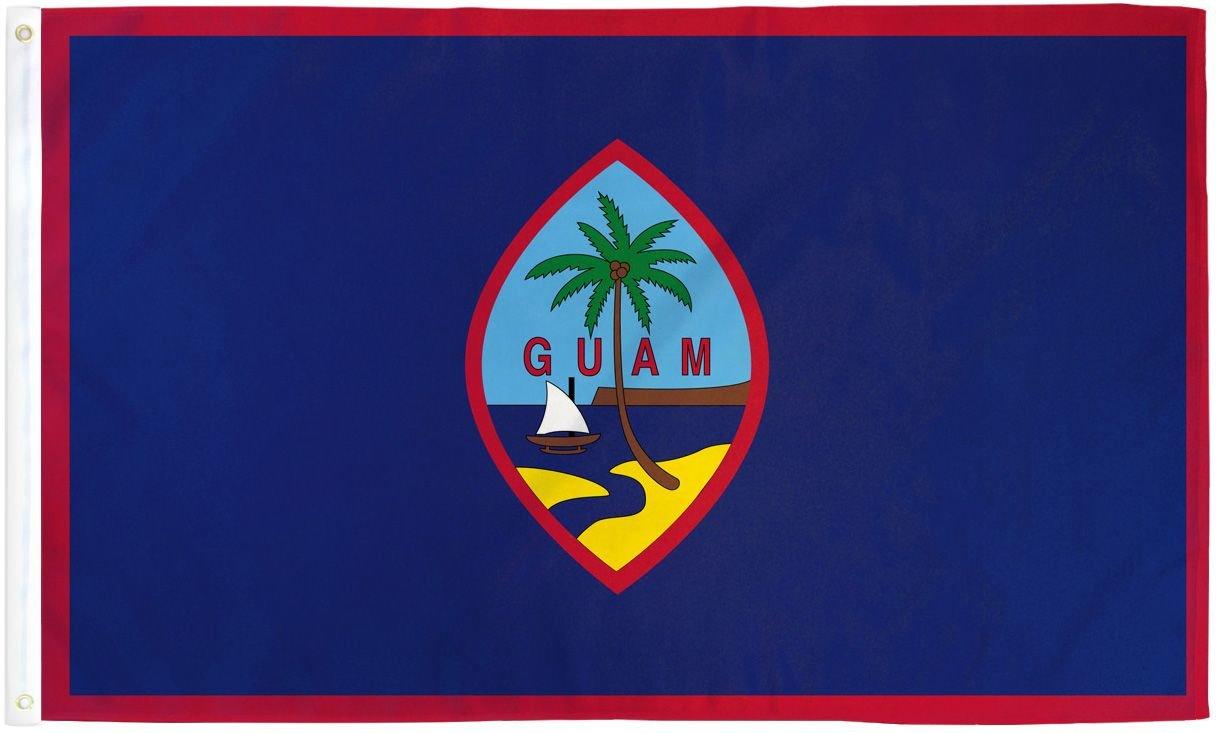 Risultati immagini per guam flag