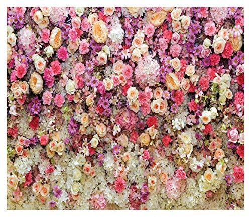 WOLADA 7x5ft Flower Photo backdrops Wedding Photography Backdrop Flowers Backdrop Newborn Photography Props Party Photography Background 8892