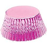 Fox Run 7107 Light Pink Foil Bake Cups, Standard, 32 Cups
