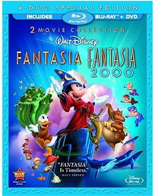 Pack: Fantasía + Fantasía 2000 [Blu-ray]: Amazon.es: Personajes ...