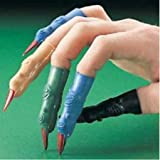 """12 ~ Martian Witch Fingers ~ Assorted Colors ~ Vinyl ~ Apprx 3"""""""