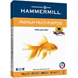 Hammermill Paper, Premium Multi-Purpose Poly Wrap, 24lb, 8.5 x 11, Letter, 97 Bright, 500 Sheets/1 Ream (105810) Made In The USA