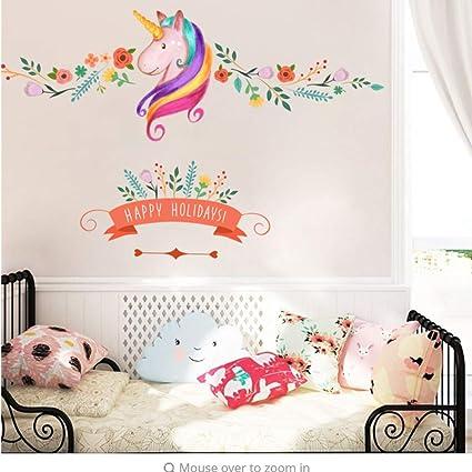 Amazon.com: Meaosy Flower Branch Happy DIY Girls Bedroom ...
