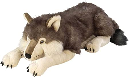 "Giant Stuffed Animal Plush Toy Wild Republic Jumbo Wolf Plush Gifts 30/"""
