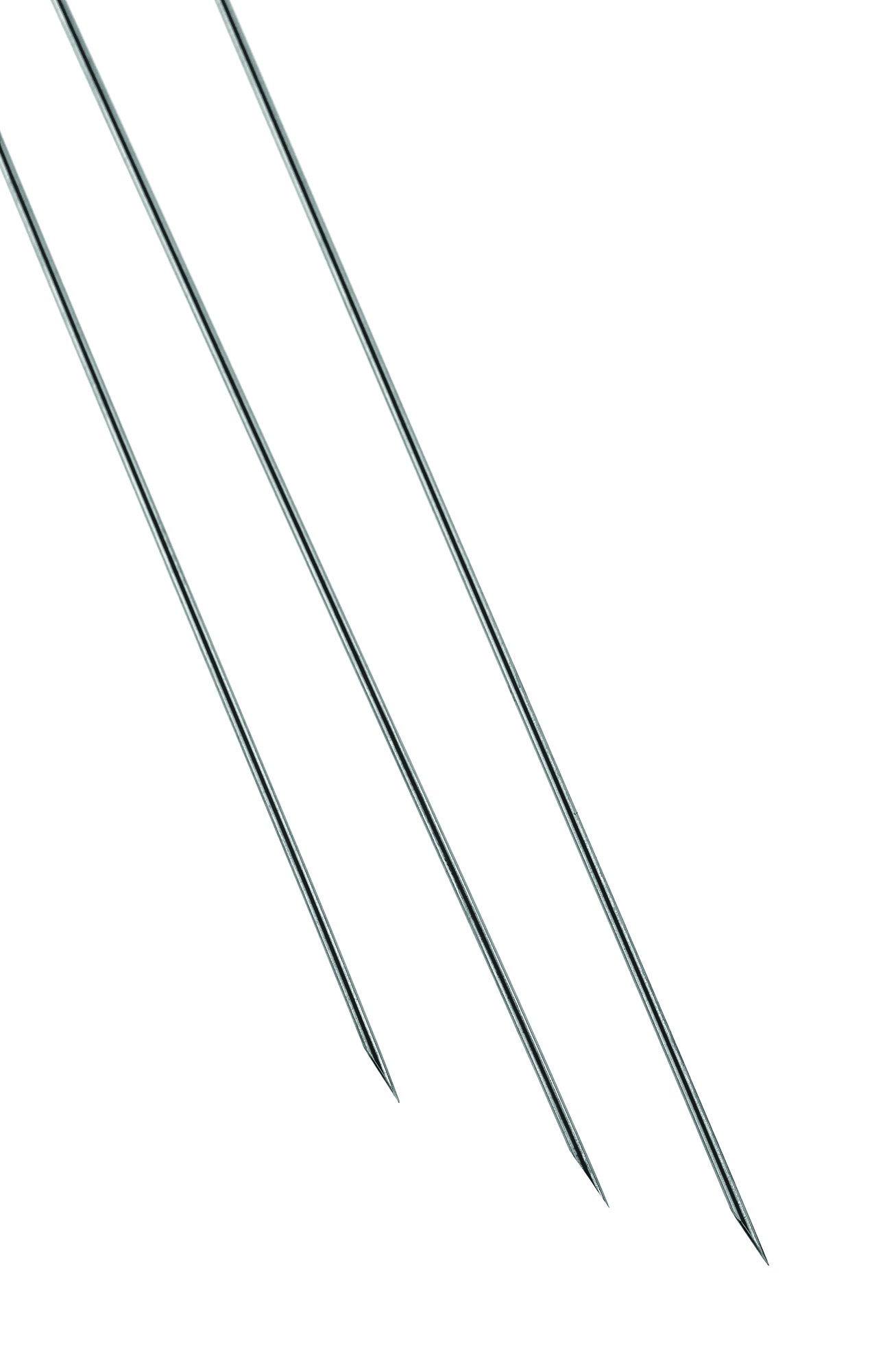 Chemglass AF-0519-01 Stainless Steel Cannula, Airfree, 16 Gauge, 18'' Length,   0.065'' OD,   0.047'' ID, 0.5'' Height (Pack of 3)