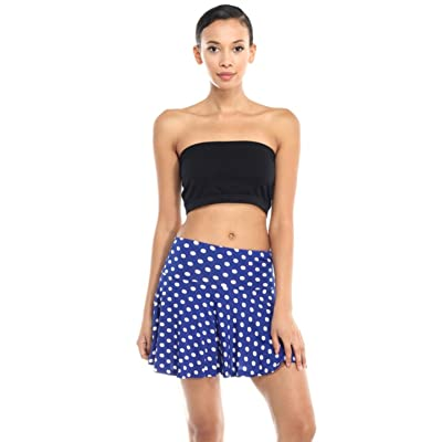 1d6a6cf920ecb 2LUV Women s Patterned Flouncy Fashionable Mini Skirt