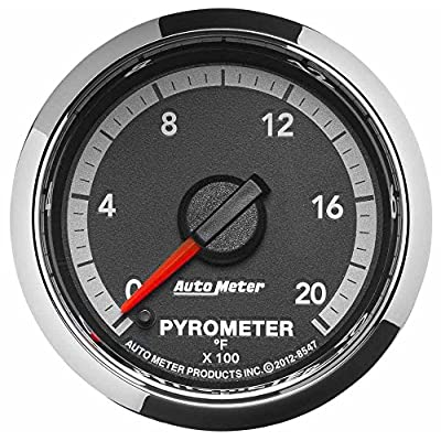 "AUTO METER 8547 Factory Match 2-1/16"" Electric Pyrometer (0-2000 Degree F, 52.4mm): Automotive"
