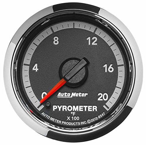 Auto Meter 8547 Factory Match 2-1/16'' Electric Pyrometer (0-2000 Degree F, 52.4mm) by Auto Meter