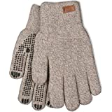 Kinco 5299 Alyeska Ragg Wool Full Finger Glove with Acrylic Thermal Lining, Grey
