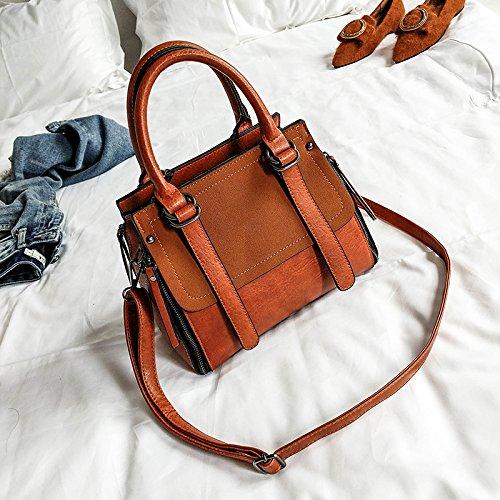 Lady de la à Sac Sac sac minimaliste bandoulière personnalité a Bag Sac main Messenger All à coréen Femme Match zSpZq