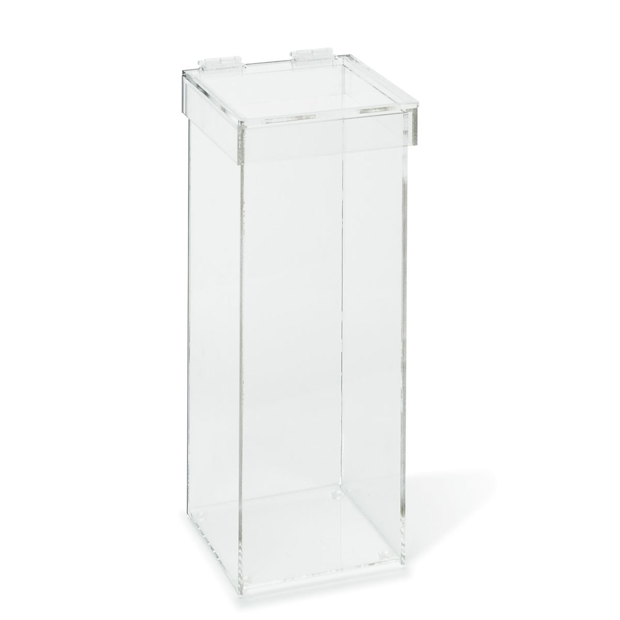 Acrylic Waste Container with Lid