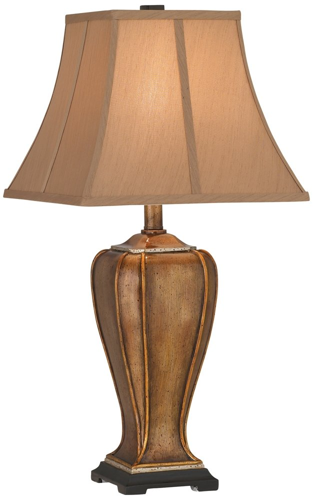Golden Copper Stippled Table Lamp - - Amazon.com