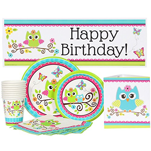 owl party package - 3