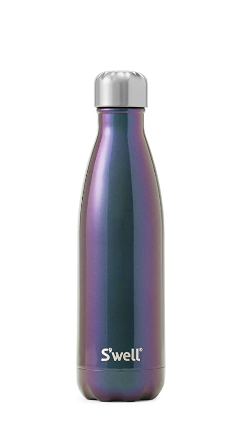 Swell - Botella de agua aislada de acero inoxidable, Azul (Supernova), 500 ml (17 oz)
