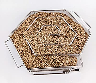 Grill Smoker Box For smoker wood chips from NAK