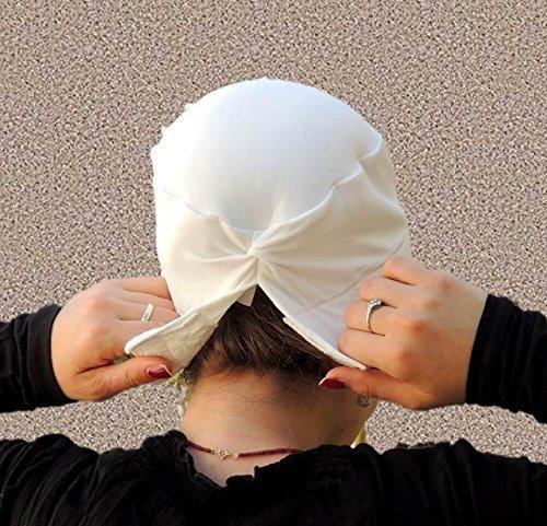 (Volumizer including No Slip Headband-NEW-All In One Hat-Great under Tichel, Head Scarves, Wigs, Chemo, Head Coverings Volumizing Hijab Headpiece Bun)