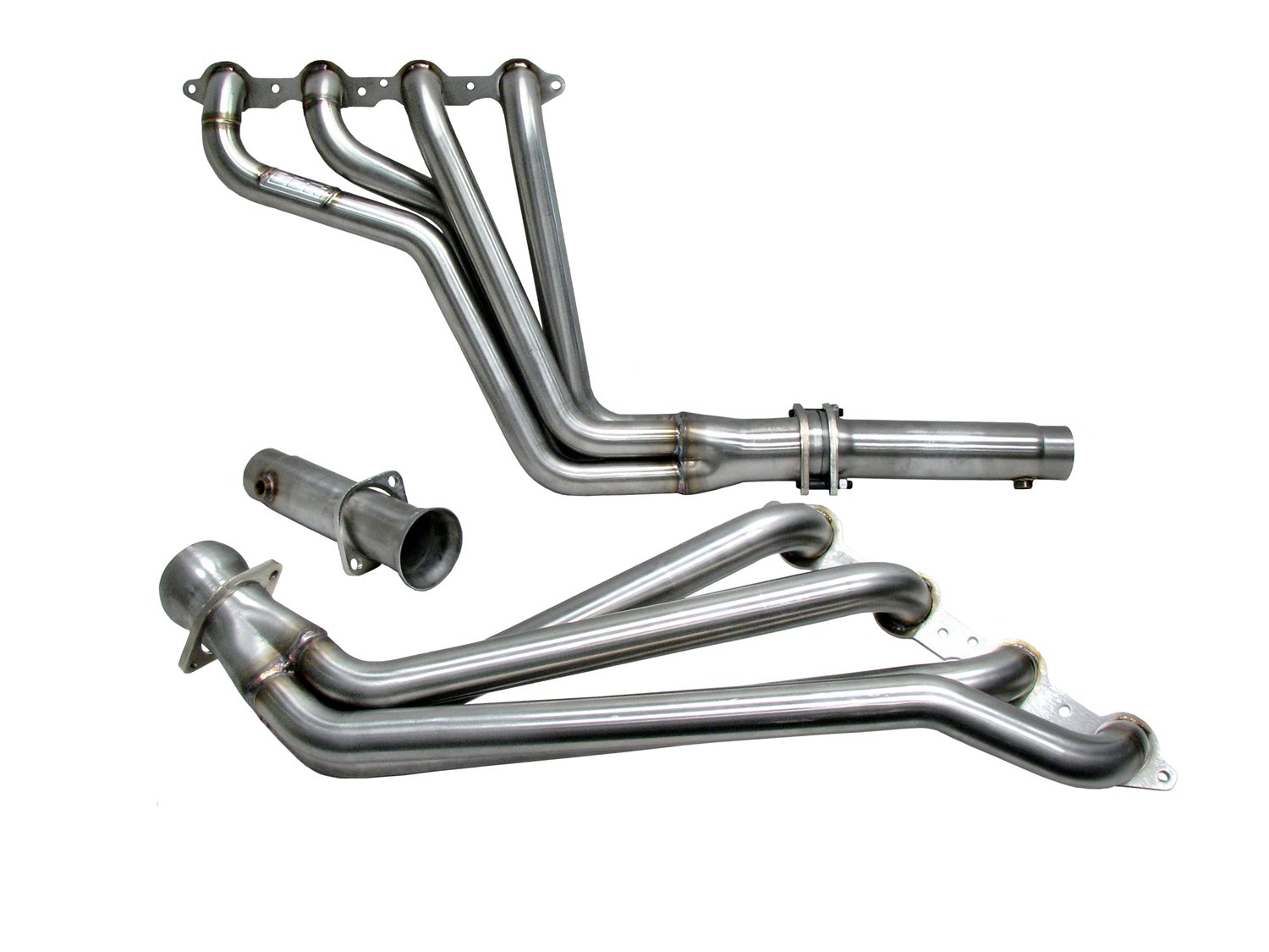 BBK 40315 1-3/4'' Full Length Long Tube High Flow Performance Exhaust Headers System With Off Road Only Pipes for Camaro V8, SS, LS3, L99 - 304 Stainless