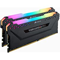 Corsair Vengeance RGB Pro 16GB (2 x 8GB) PC4-24000 3000MHz DDR4 288-Pin DIMM Desktop Memory