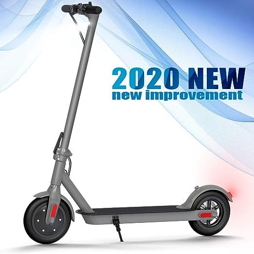 Mi Scooter Eléctrico, urbteter Patinete eléctrico Plegable Adulto y niño, con Alcance de 20 Km, 25km/h (Gris)