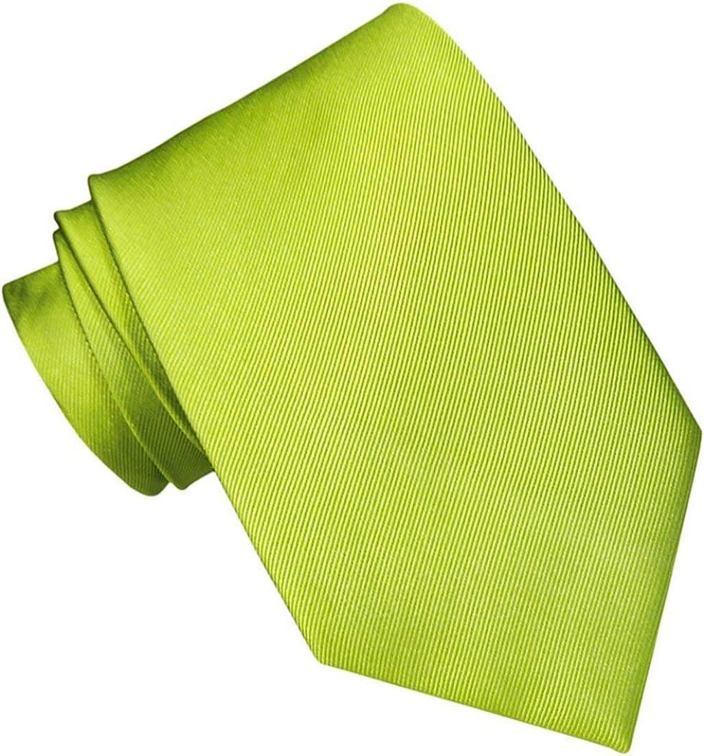 JOSVIL Corbata Verde Pistacho. Corbata de seda para hombre elegante y de gran calidad.: Amazon.es: Ropa y accesorios