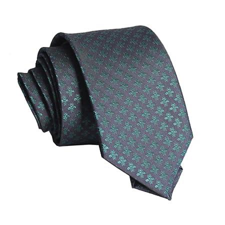 YYB-Tie Corbata Moda Corbata Azul Verde Abeja para Hombre con una ...