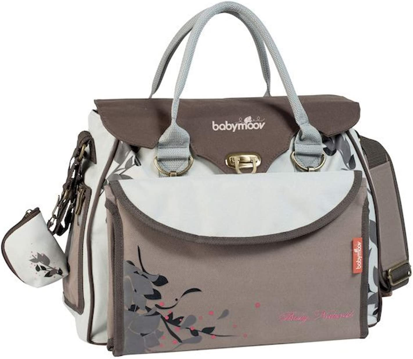 Babymoov Baby Natural A043513 - Bolso maternal, color crema
