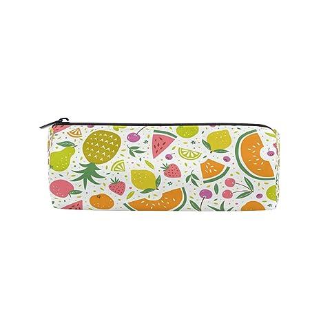 Disegno Di Frutta Ananas Matita Borsa Custodia Per Bambini Ragazzi