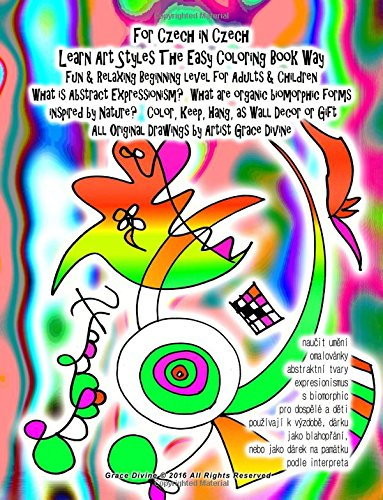 for czech in czech learn art styles the easy coloring book way fun