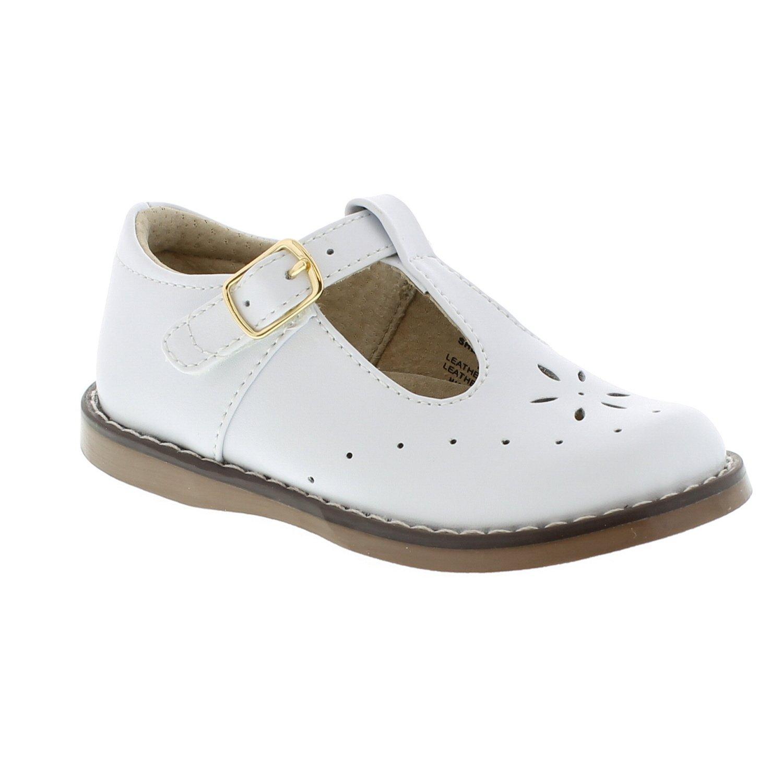 FOOTMATES Sherry (7.5 Toddler M/W, White) by FOOTMATES (Image #3)