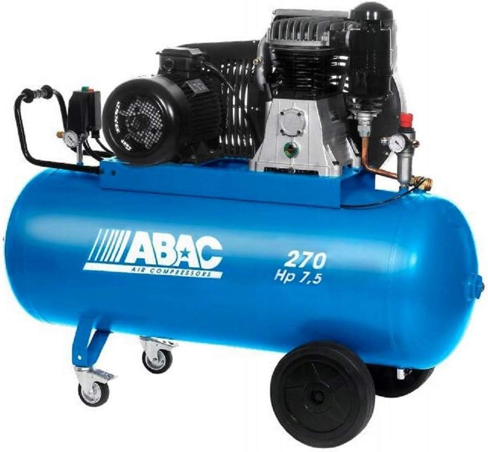 Compresor Bistadio 7,5 Hp 270 L Trifase Abac Pro B6000 270 Ct 7,5 ...